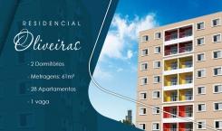 Residencial Oliveiras - Apartamento na Matriz em Mauá