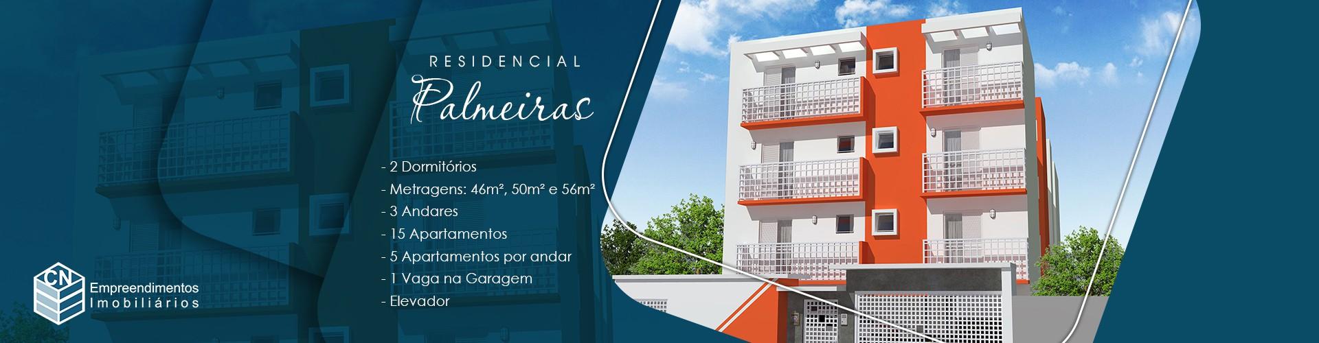 Residencial das Palmeiras - Apartamento na Vila Assis em Mauá