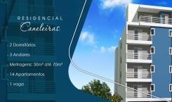 Residencial Caneleiras - Apartamento na Vila Vitória em Mauá